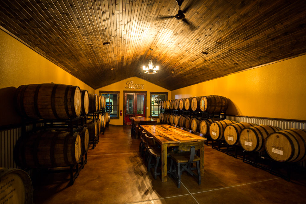 Zoller Barrel Room at City Star Brewing