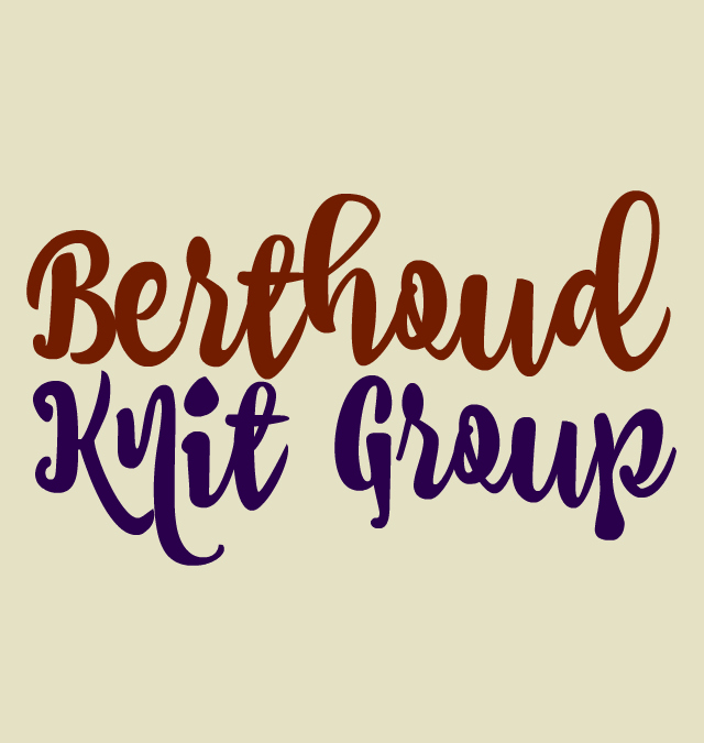 Berthoud Knitting Group